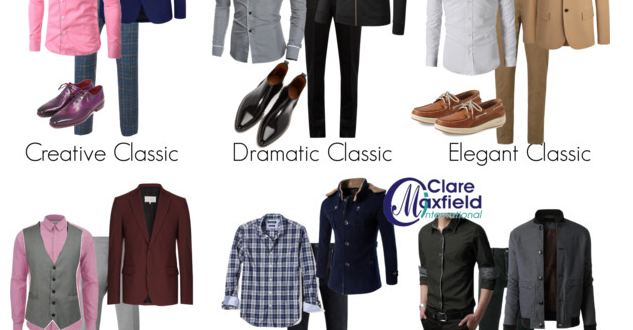 classical male clothing personality styles
